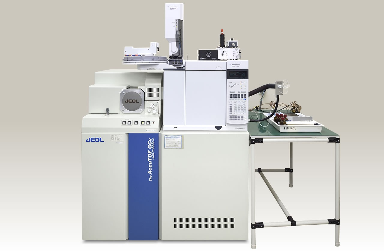 公益財団法人 東洋食品研究所[所有機器]分析関連機器ガスクロマトグラフ - 飛行時間型質量分析計(GC-Tof/MS)